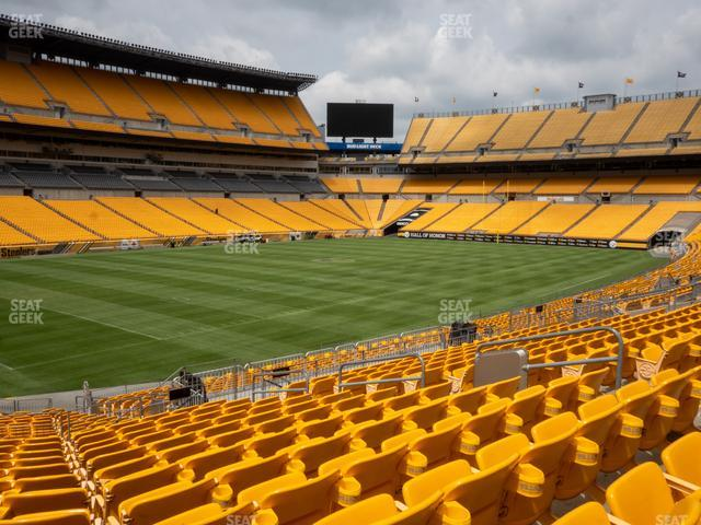 Heinz Field Section 105 view
