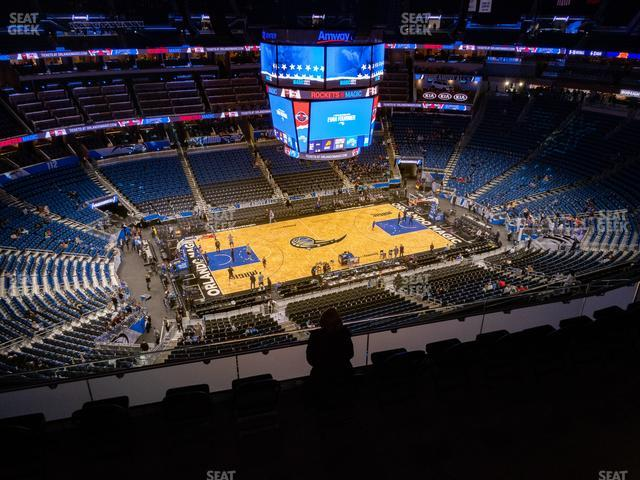 Amway Center Section 211 view