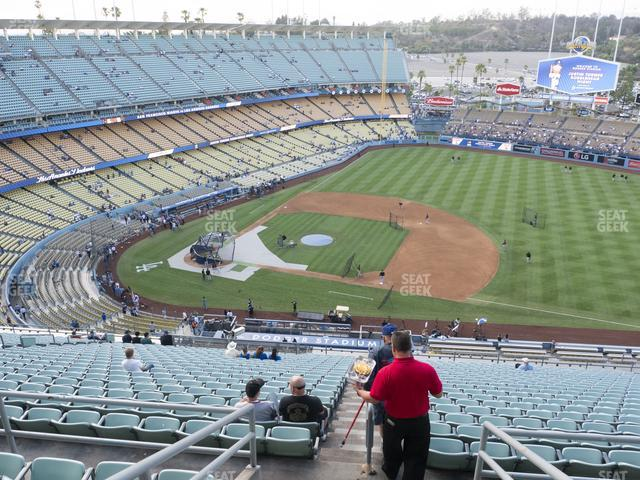 Dodger Stadium Reserve 18 view
