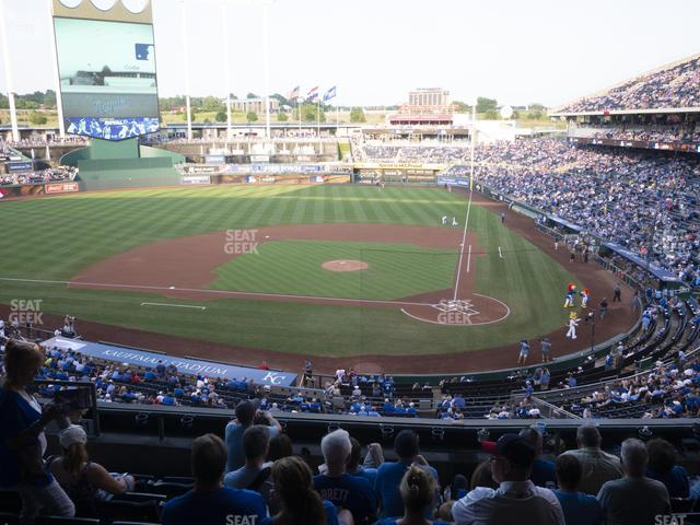 Kauffman Stadium Section 311 view