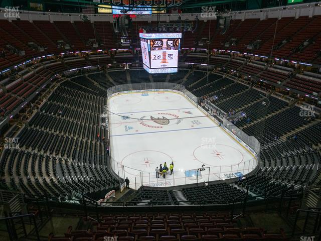 Honda Center Section 424 view