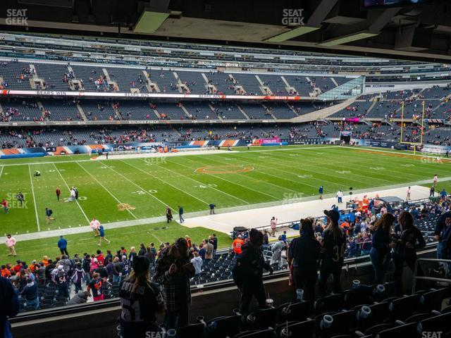 Soldier Field Section 241 view