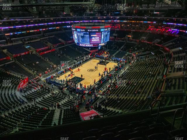 Staples Center Section 306 view