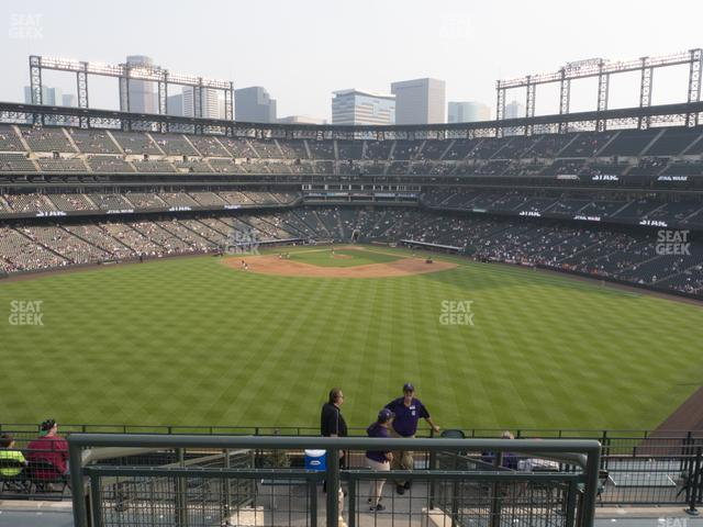 Coors Field Section 403 view