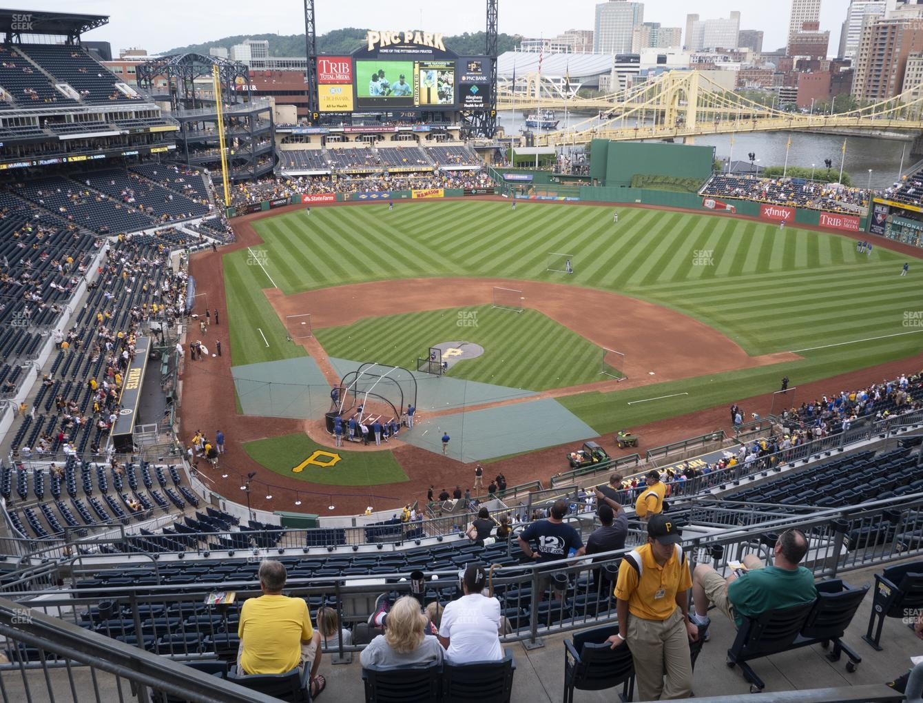 Pittsburgh Pirates at PNC Park Section 313 View