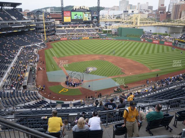 PNC Park Section 313 view