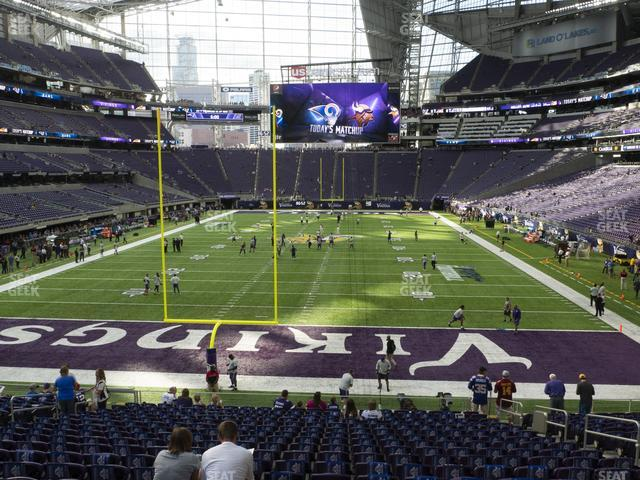 U.S. Bank Stadium Section 119 view