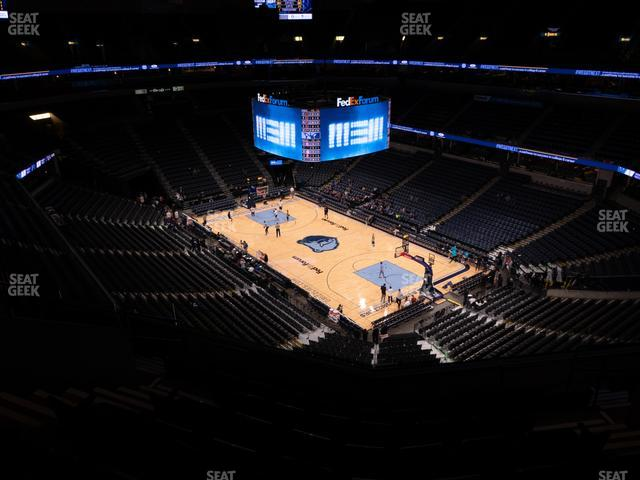 FedExForum Section 213 view