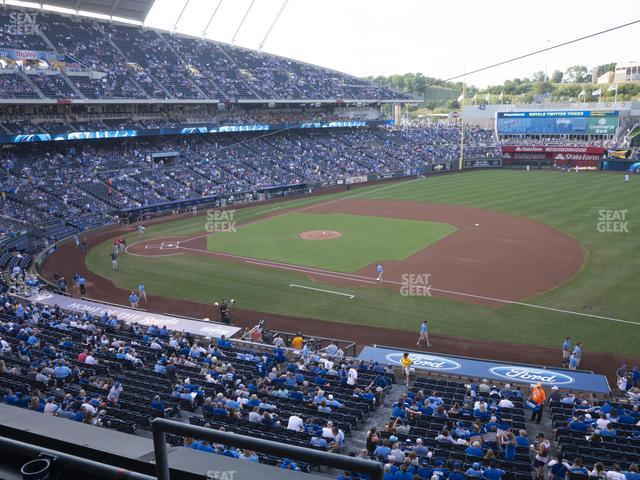 Kauffman Stadium Section 319 view