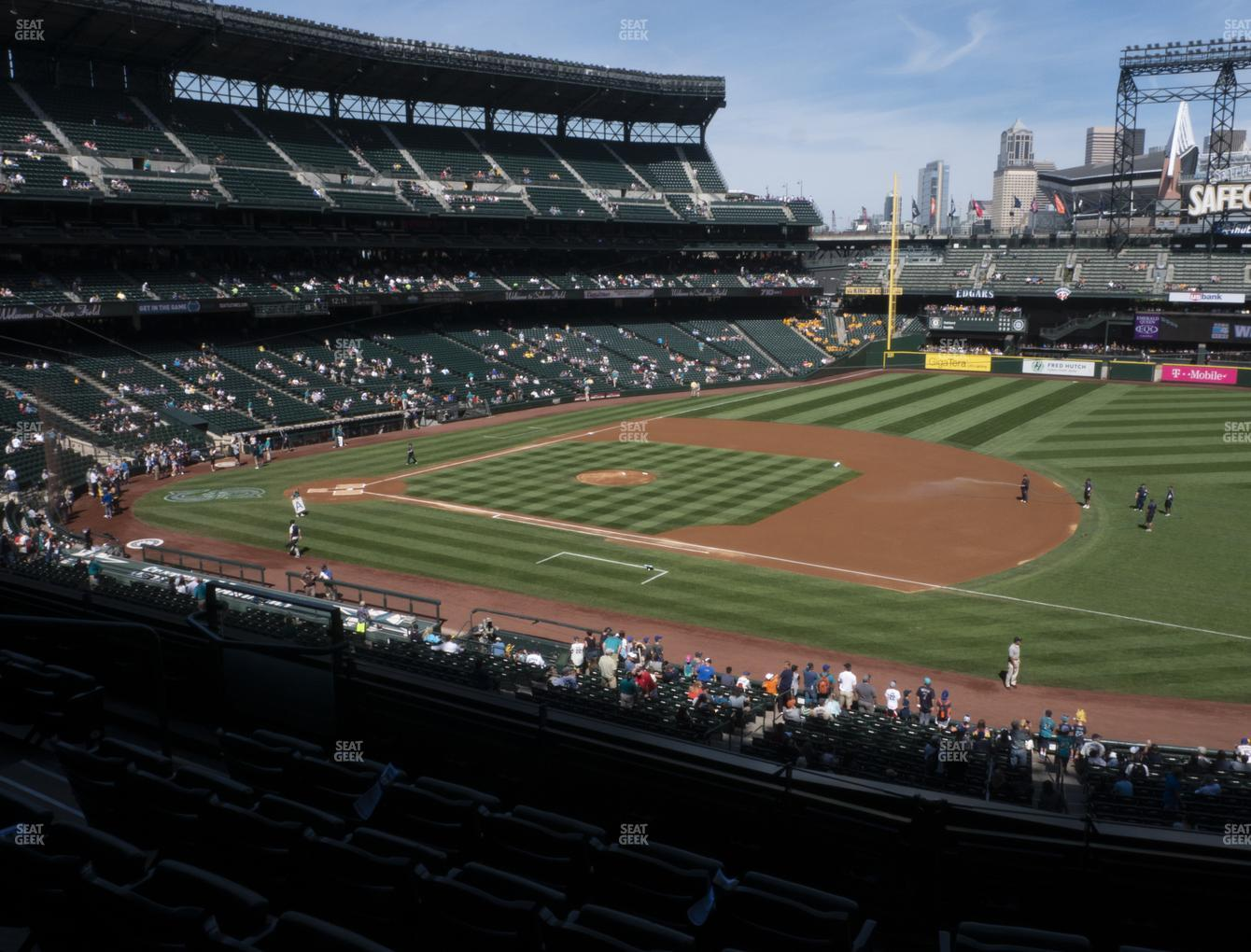 Seattle Mariners at T-Mobile Park Section 218 View