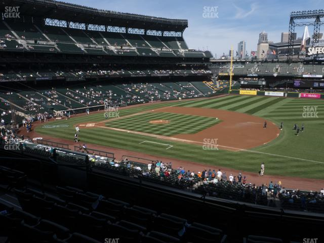 T-Mobile Park Section 218 view