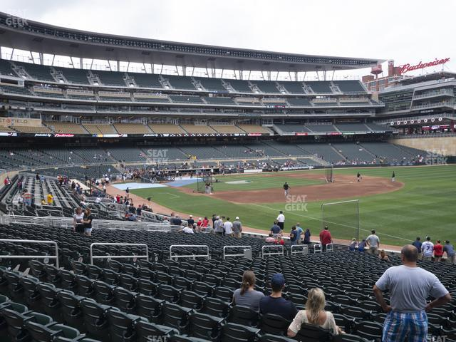 Target Field Section 103 view