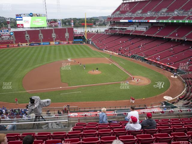 Great American Ball Park Section 417 view