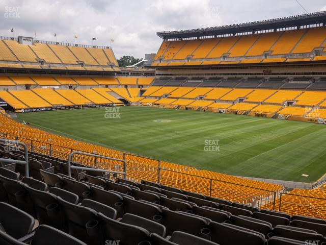 Heinz Field Section 240 view