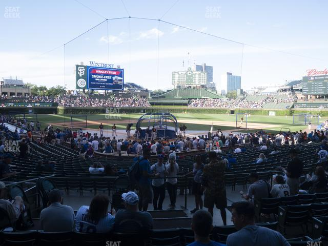 Wrigley Field Section 119 view