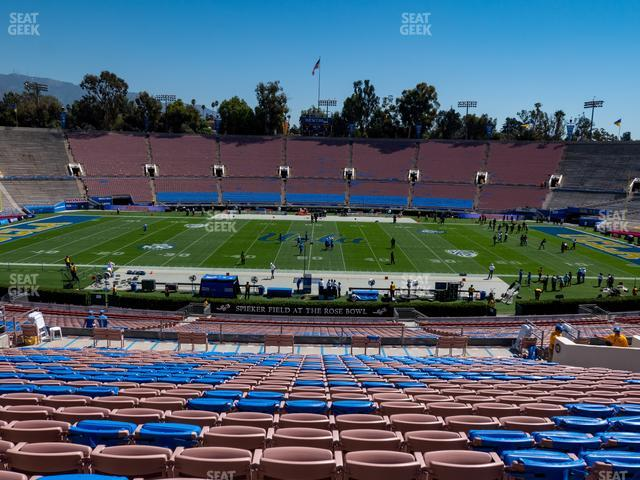 The Rose Bowl Upper 19 L view