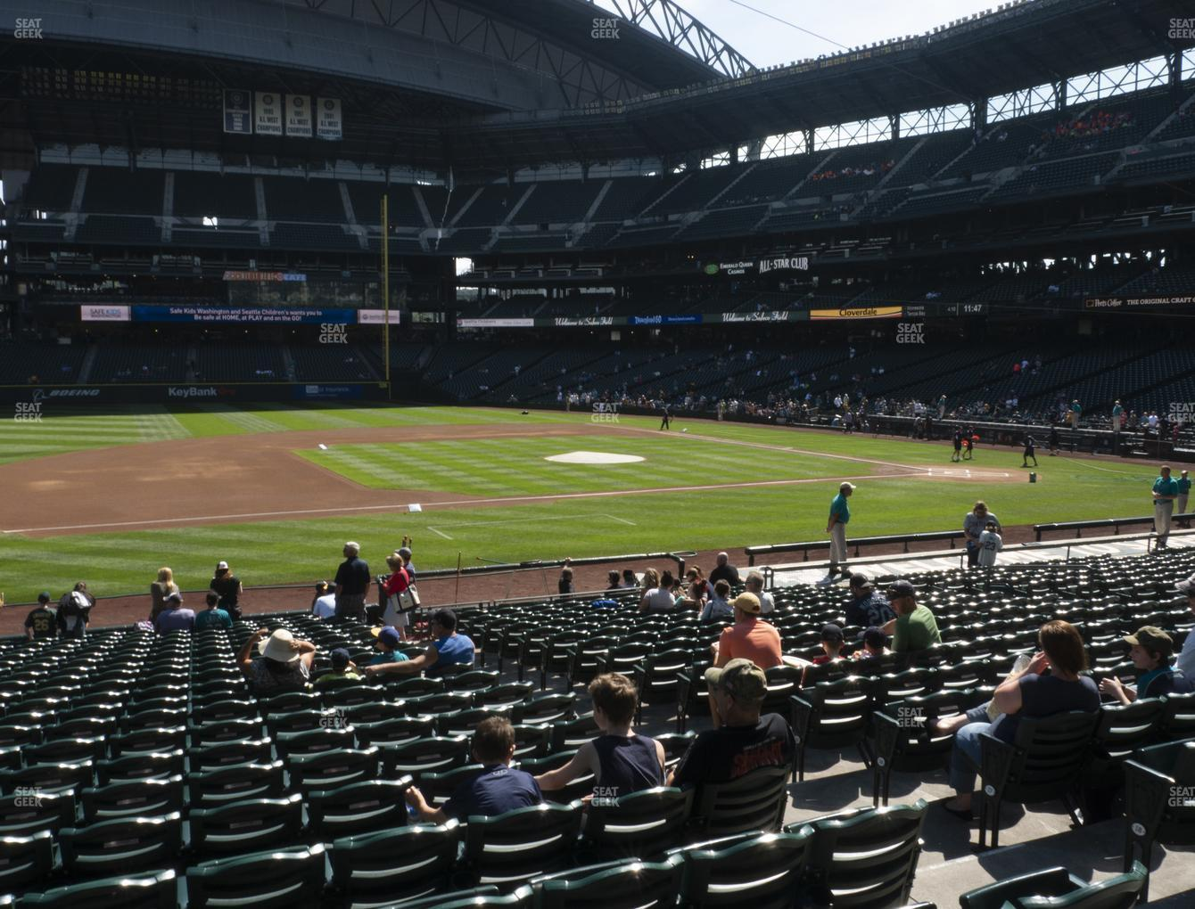 Seattle Mariners at T-Mobile Park Section 140 View
