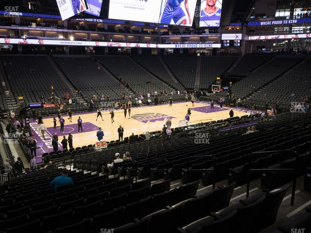 Golden 1 Center Section 109 view