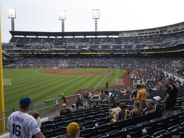 PNC Park Section 132 view