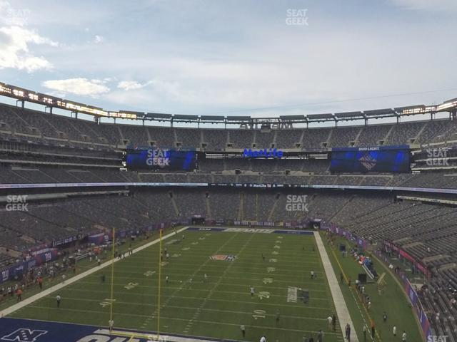 MetLife Stadium Section 224 A view