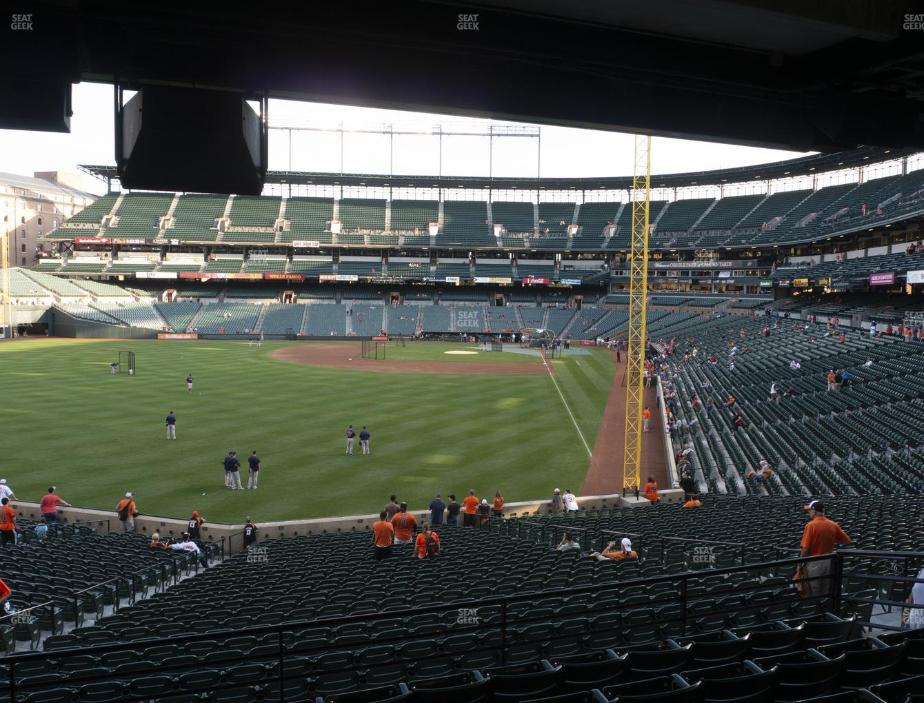Baltimore Orioles at Oriole Park at Camden Yards Section 79 View