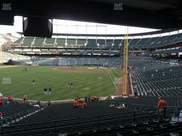 Oriole Park at Camden Yards Section 79 view