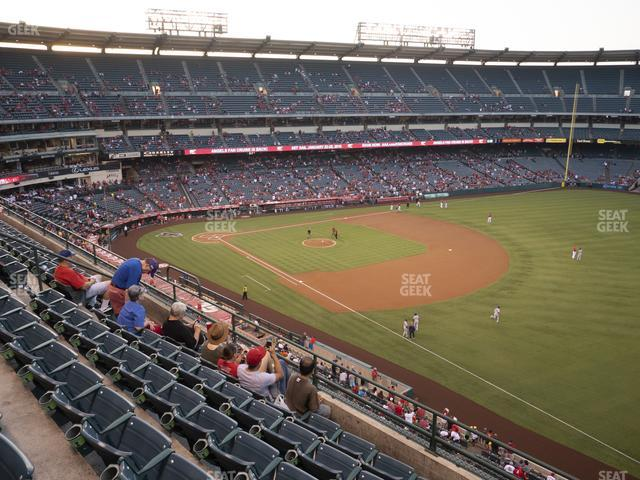 Angel Stadium of Anaheim Section 429 view