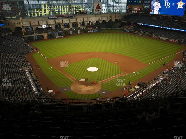 Minute Maid Park Section 420 view
