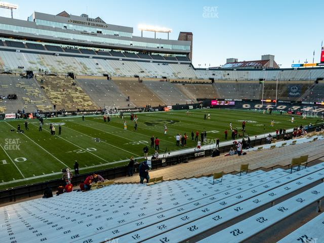 Folsom Field Section 103 view