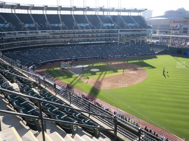 Progressive Field Section 427 view