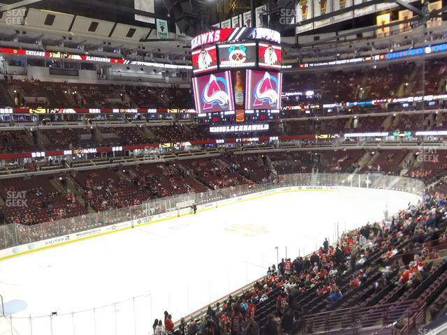 United Center Section 204 view