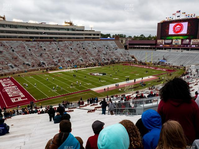 Doak Campbell Stadium Section 14 view