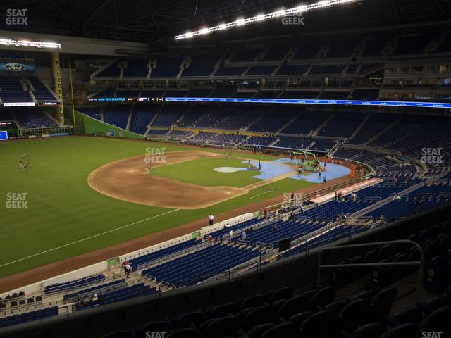 Marlins Park Section 225 view