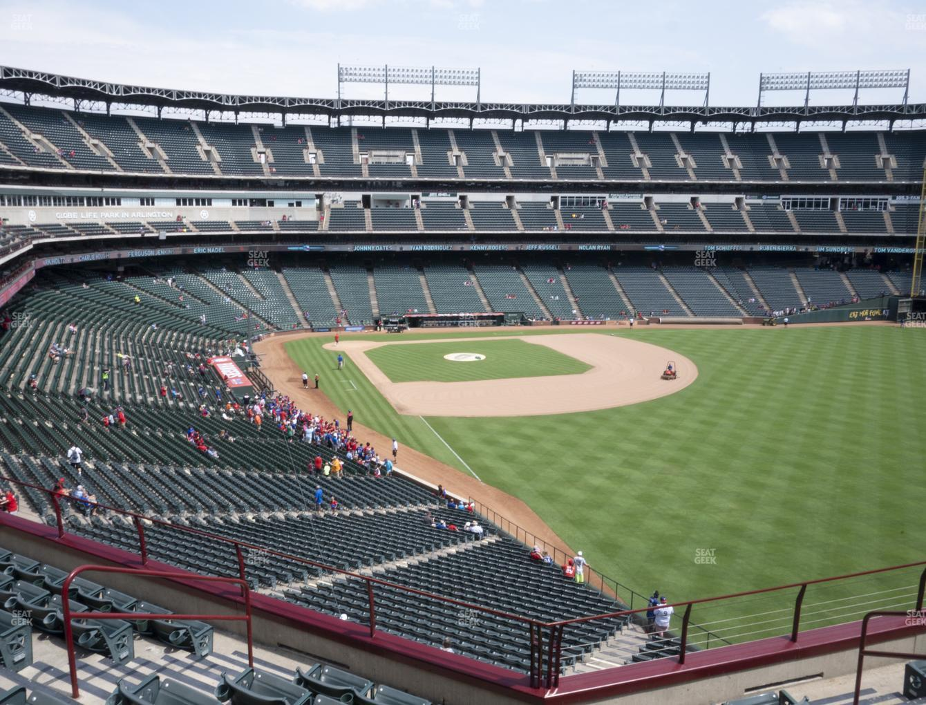 Concert at Globe Life Park Section 243 View
