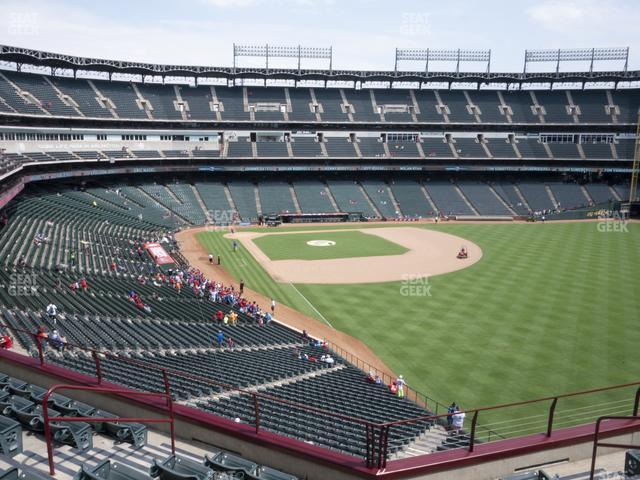 Globe Life Park Section 243 view