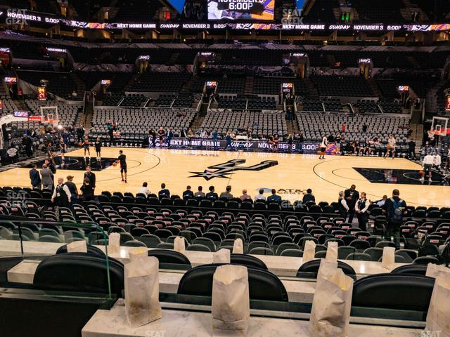 AT&T Center Box 4 view