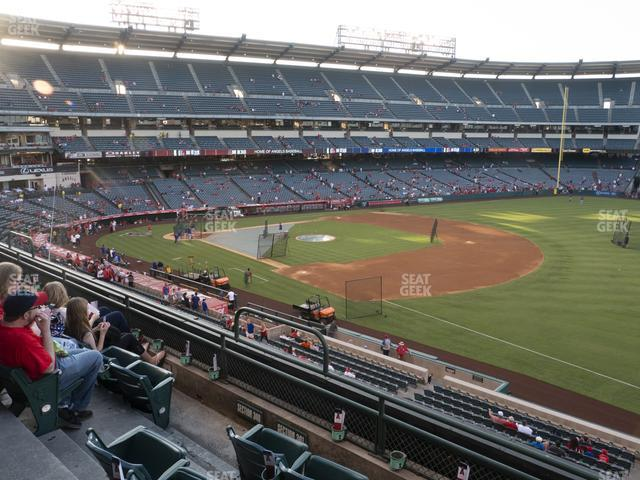 Angel Stadium of Anaheim Section 341 view