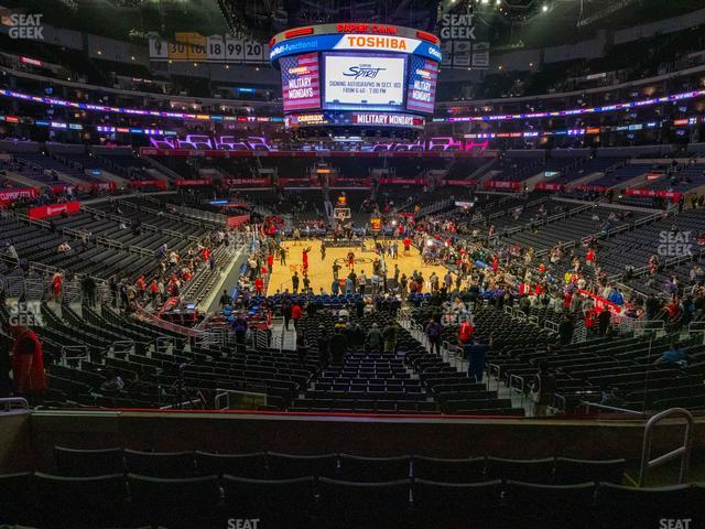 Staples Center Section 208 view