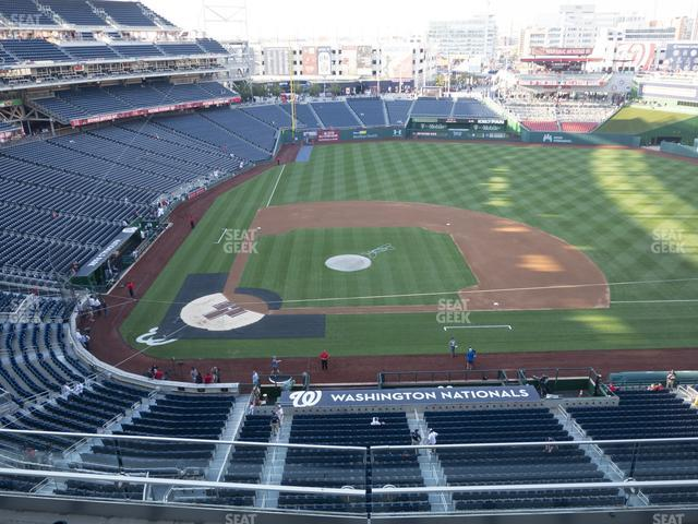 Nationals Park Section 318 view