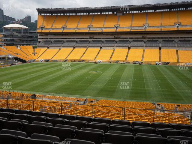 Heinz Field Section 212 view