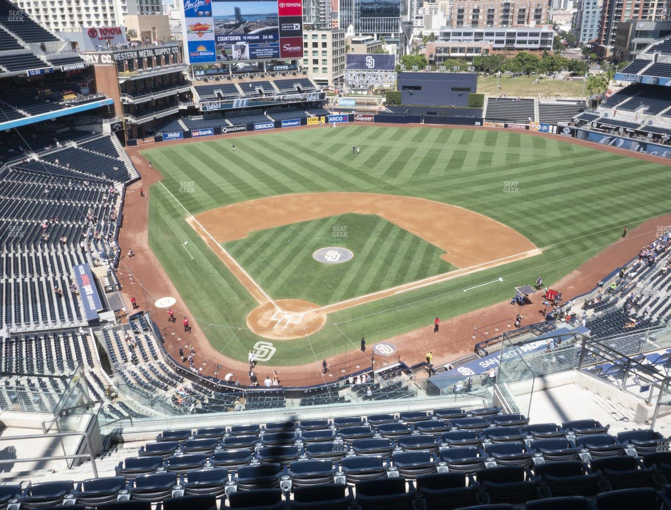 San Diego Padres at Petco Park Section 303 View