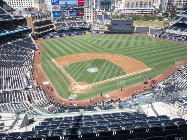 Petco Park Section 303 view