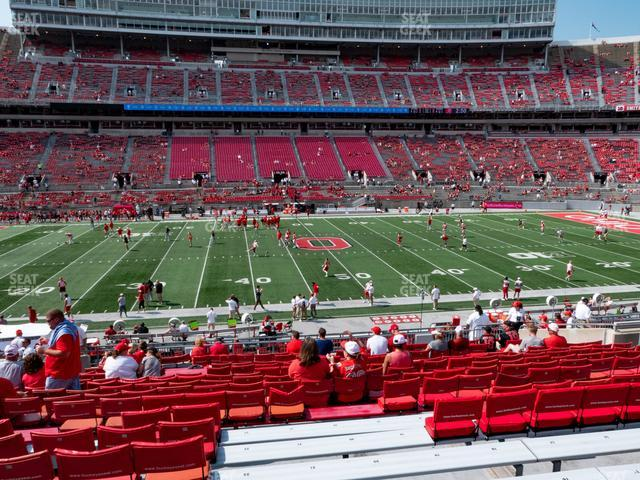 Ohio Stadium Section 22 A view