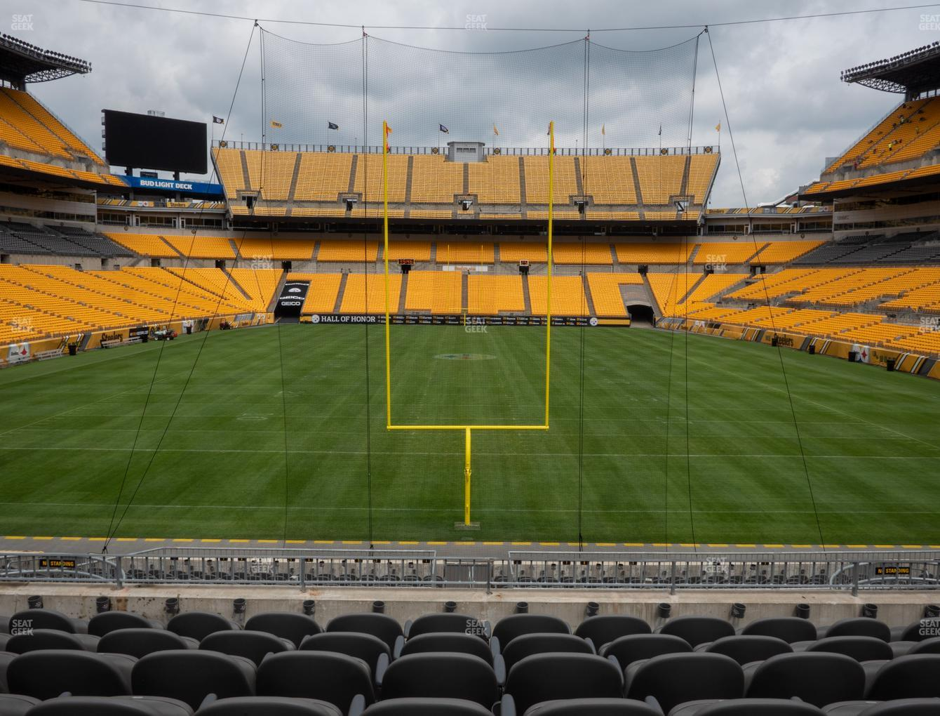 Pittsburgh Steelers at Heinz Field Section C 149 View