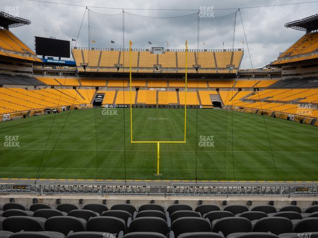 Heinz Field Section C 149 view