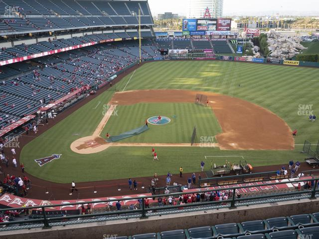 Angel Stadium of Anaheim Section 424 view