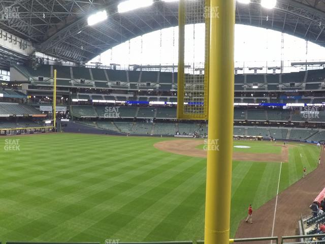 Miller Park Section 233 view