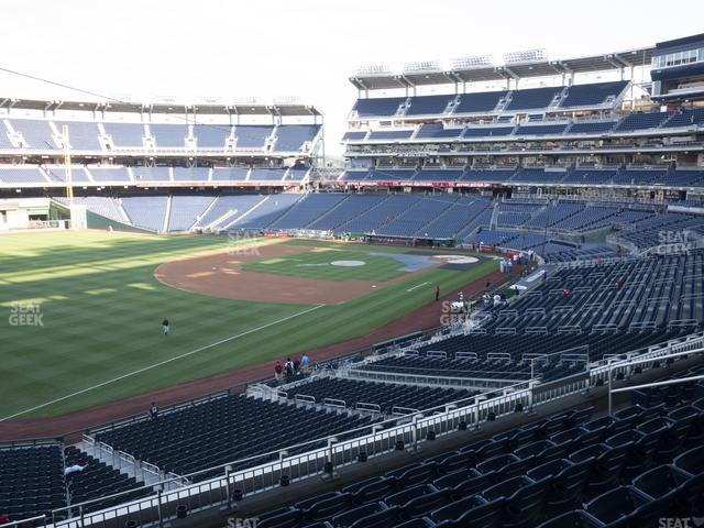 Nationals Park Section 203 view