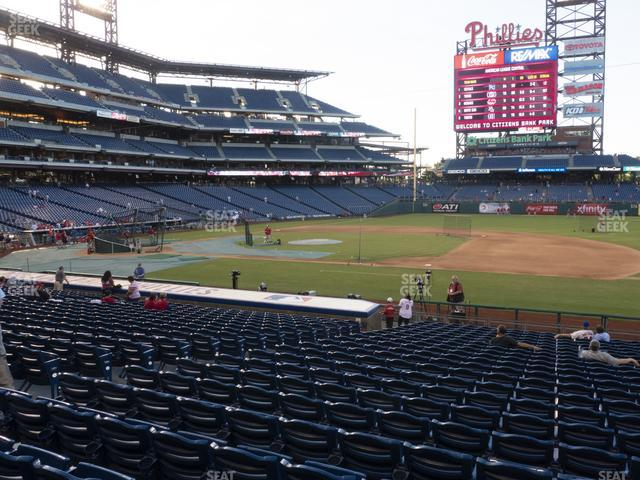 Citizens Bank Park Section 115 view