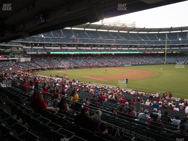 Angel Stadium of Anaheim Section 227 view